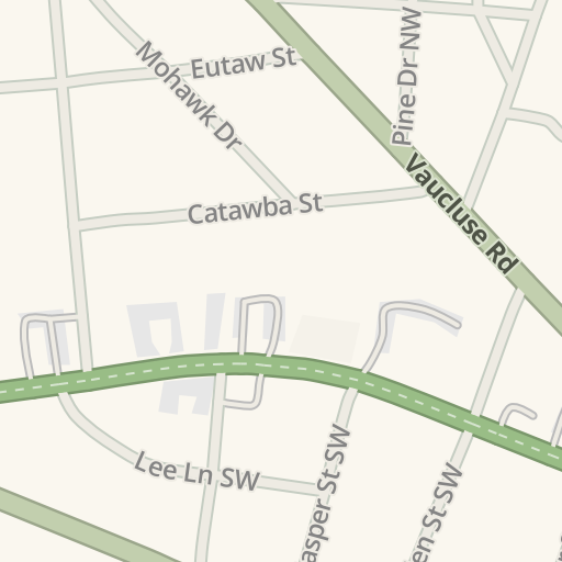 Waze Livemap - Driving Directions to Days Inn - Downtown Aiken ... on