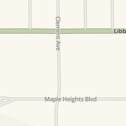 waze livemap driving directions to gales garden center maple heights united states - Gales Garden Center