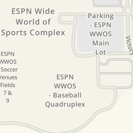 Driving Directions to ESPN WWOS - Visa Athletic Center, Bay