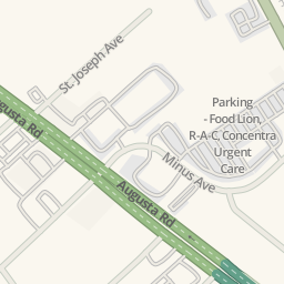 Waze Livemap   Driving Directions To Concentra Urgent Care, Garden City,  United States