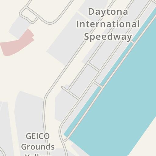 Daytona International Sdway Map on