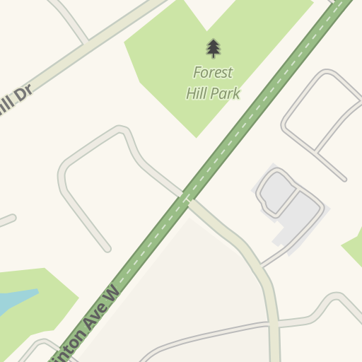Waze Livemap - Driving Directions to Gamma-Dynacare Medical