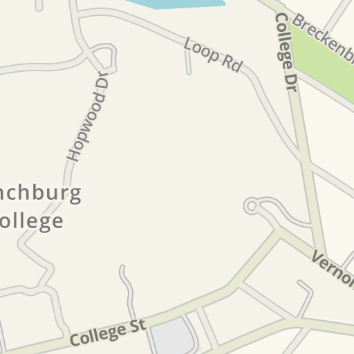 Waze Livemap - Driving Directions to McWane Hall Lynchburg College ...