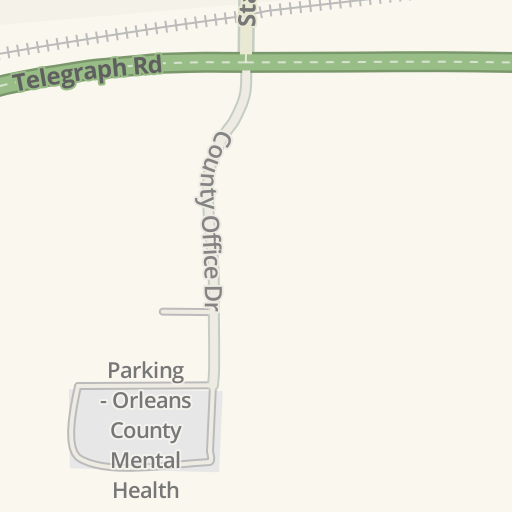 Waze Livemap Driving Directions To Parking Orleans County Mental