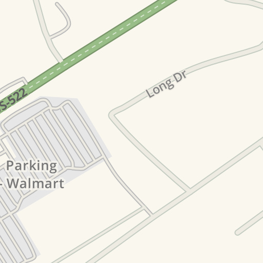 waze livemap driving directions to walmart lewistown united states