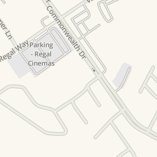 Waze Livemap - Driving Directions to Hampton Roads Ice Plex, Newport