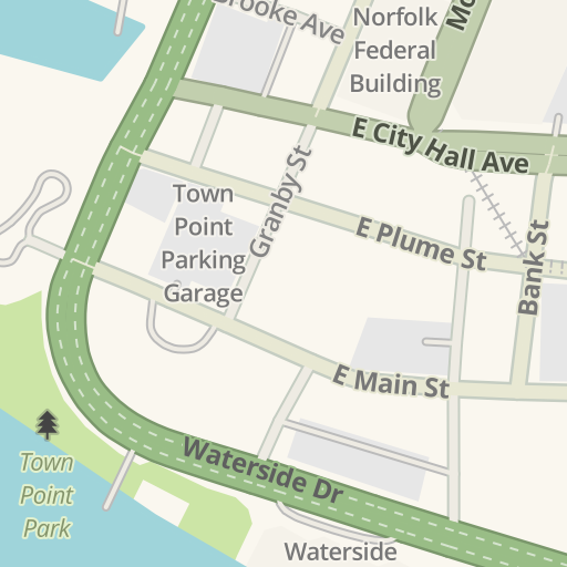 Map Of Macarthur Mall Driving Directions to Grain Rooftop beer Garden, Norfolk, United