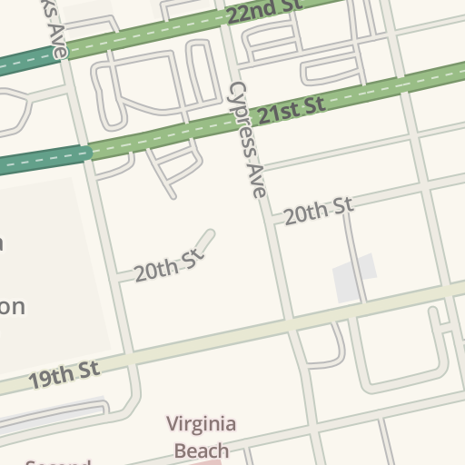 Waze Livemap Driving Directions To Virginia Beach Convention Center United States
