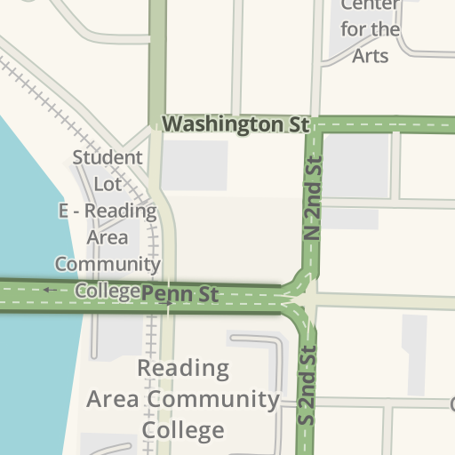 Waze Livemap Driving Directions To Berks Hall Parking Reading