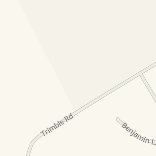 Waze Livemap Driving Directions To George W Hill Correctional