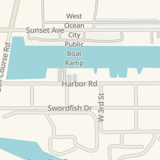 Waze Livemap Driving Directions To Food Lion West Ocean City