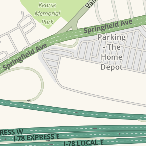 Waze Livemap - Driving Directions to The Home Depot SuperStore ...