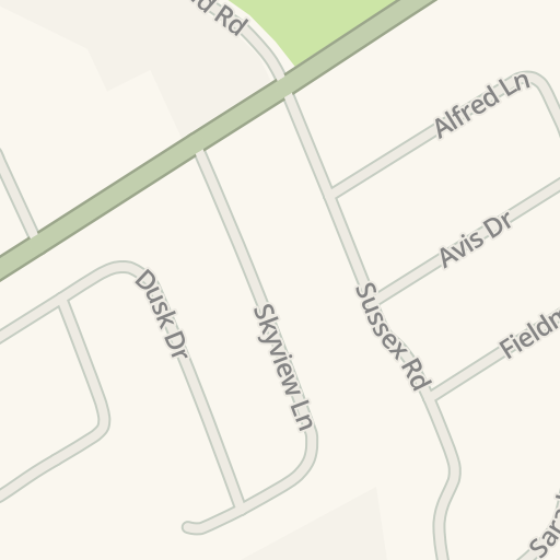 Waze Livemap Driving Directions To Albert Leonard Middle School