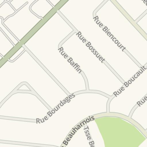 Waze Livemap - Driving Directions to Salon de coiffure, Longueuil ...