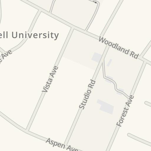 Waze Livemap Driving Directions To Arrow Campus Center Garage Lot