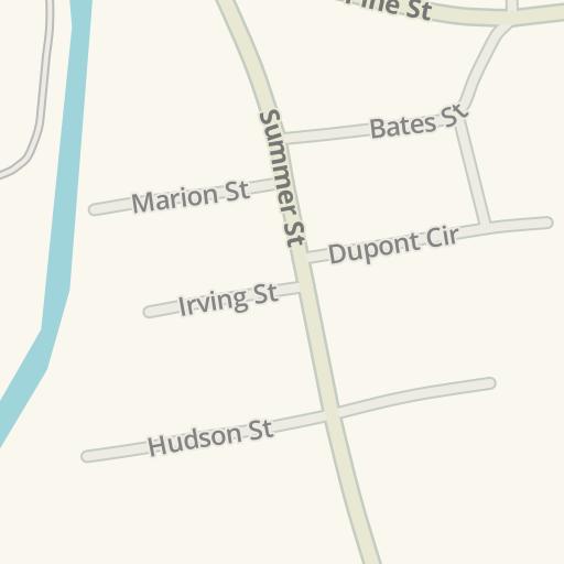 Brockton Va Campus Map.Waze Livemap Driving Directions To Trinity Catholic Academy Upper