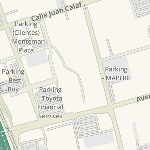Waze Livemap - Cómo llegar a Mueblerias Berrios, San Juan