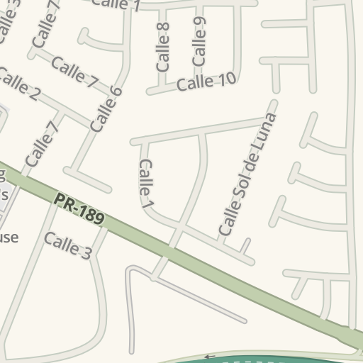 Waze Livemap Driving Directions To Banco Popular Gurabo Puerto Rico