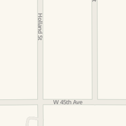 Driving Directions To Parking Anderson Pool Wheat Ridge United - 45th parallel map us