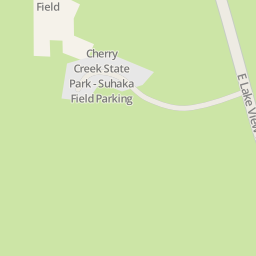 Driving directions to Cherry Creek State Park Suhaka Field Parking