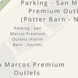 Driving directions to Parking - San Marcos Premium Outlets, San ...