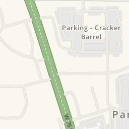 Driving Directions To Cracker Barrel Branson United States - Cracker barrel us map