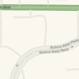 Driving Directions To Stevi Bs Pizza Buffet Warner Robins - Stevi b's us map