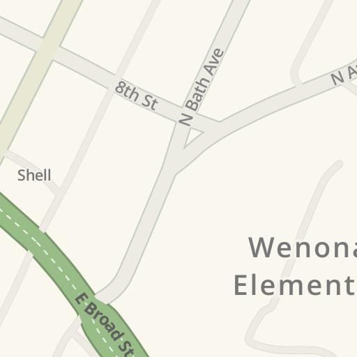 去weasie S Kitchen E Broad St 130 Waynesboro的驾驶路线 Waze